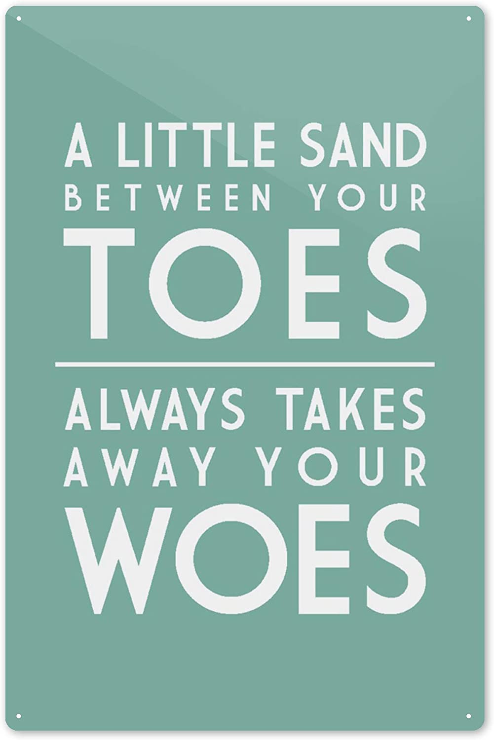 16x24 SIGNED Print Master Art Print - Wall Decor Poster Simply Said 76140 A Little Sand Between Your Toes