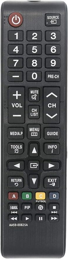 ALLIMITY AA59-00825A Mando a Distancia reemplazado por Samsung 3D Smart TV UE22H5000 UE32H5000 UE40F6400 UE40H5000 UE46F6400 UE48H6410 UE55H6410: Amazon.es: Electrónica