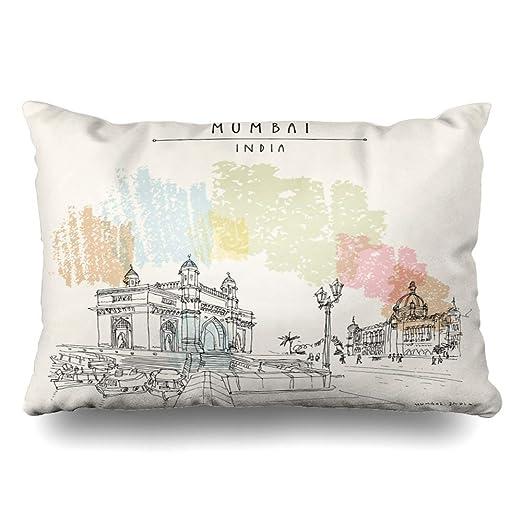 Green Haoke Luxury Indian Gateway India City Sketch Gate ...