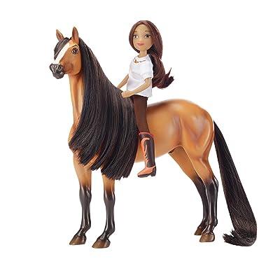 Breyer Spirit Riding Free - Spirit & Lucky Horse Doll Gift Set: Spirit: Toys & Games