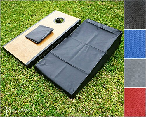 Get Outside Games Cornhole Board Covers - Set of 2 For Full Size 24x48 Boards (Cornhole Covers)