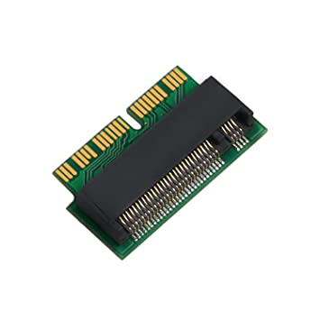 QNINE M.2 NVME SSD Convertir Adaptador para MacBook Air Pro Retina ...