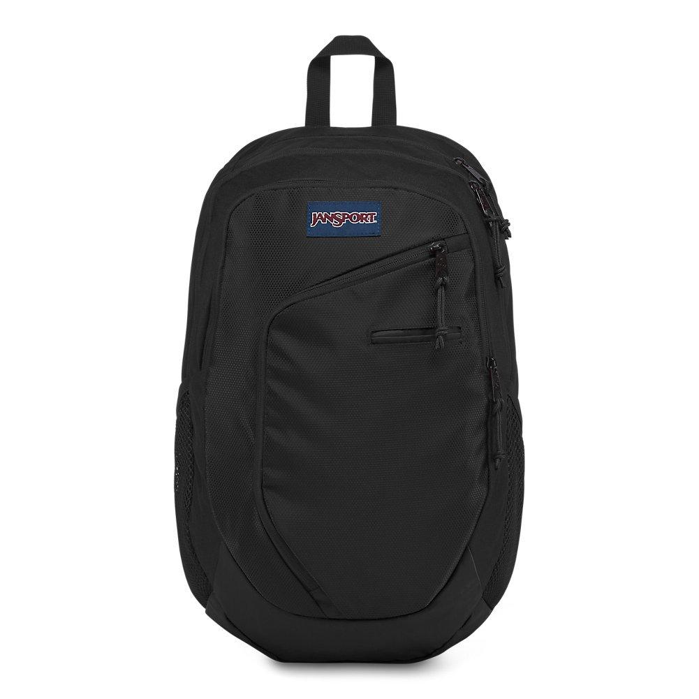 JanSport JS0A3EN33D6 Interface Laptop Backpack, Black Triangle Dobby