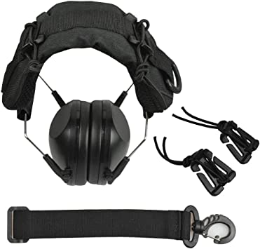 Durable Advanced Modular Headset Cover Molle Headband for General Earmuffs