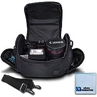Medium Soft Padded Camera Equipment Bag/Case for Nikon, Canon, Sony, Pentax, Olympus Panasonic, Samsung & Many More…