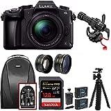 Panasonic LUMIX G85MK 4K Mirrorless Interchangeable Lens Camera Kit, 12-60mm Lens w/ Rode Video Micro + 128GB