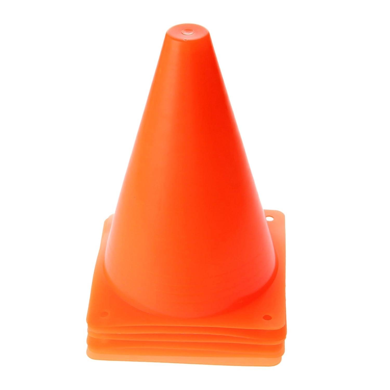 【全品送料無料】 6pcs 18 オレンジ 18 cmトレーニングスポーツ安全トラフィックAgility ConeマーカーFootball Soccerローラー オレンジ B01M742T1E B01M742T1E, style ドレスショップ:065b0c07 --- west-llc.com