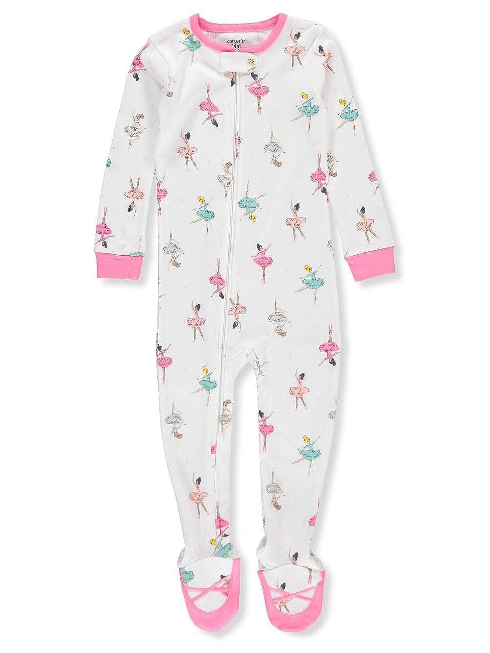 Carter's Baby Girls' 1-Piece Footed Pajamas Carter' s