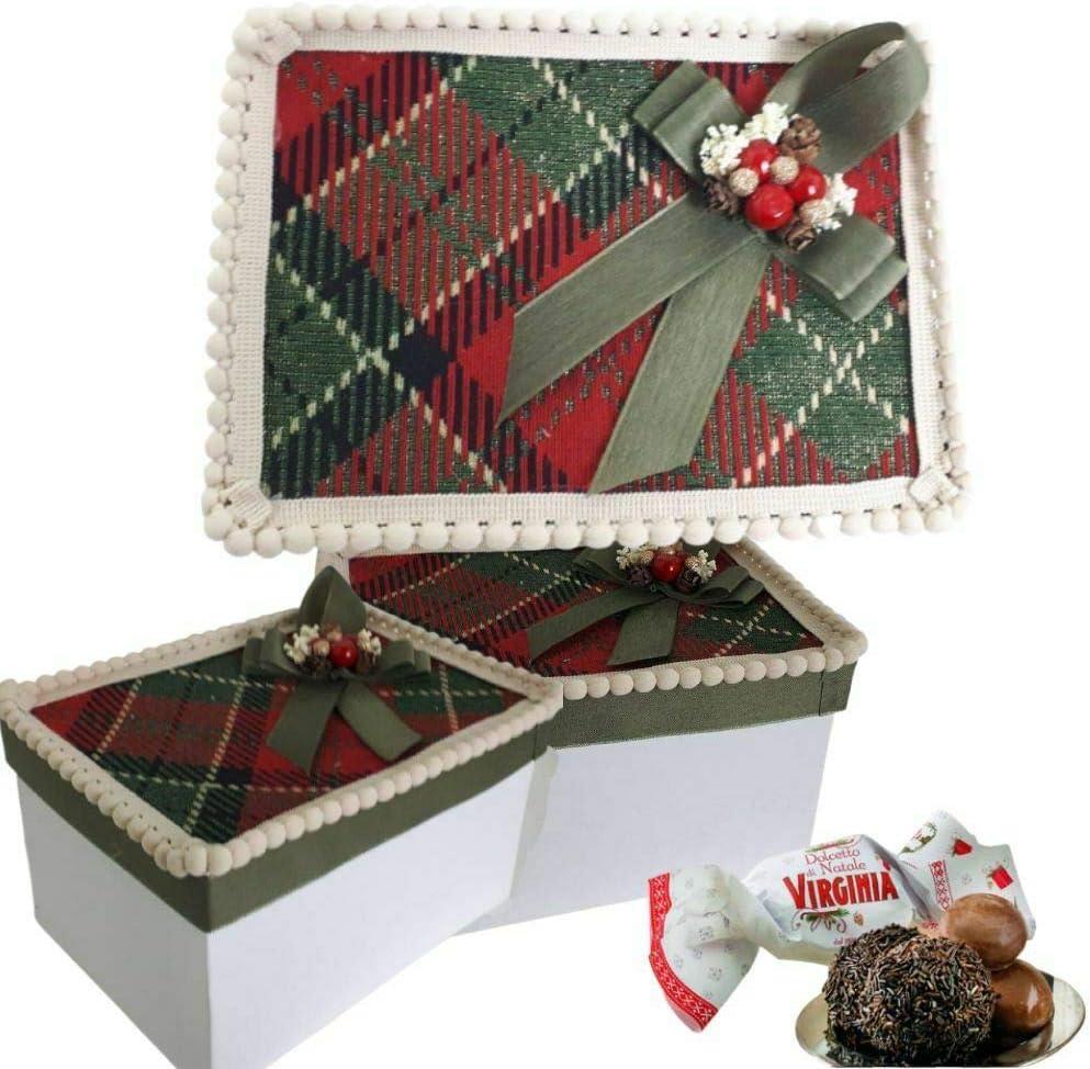 Idea regalo caja confeccionada con amaretti Virginia Dolcetto ...