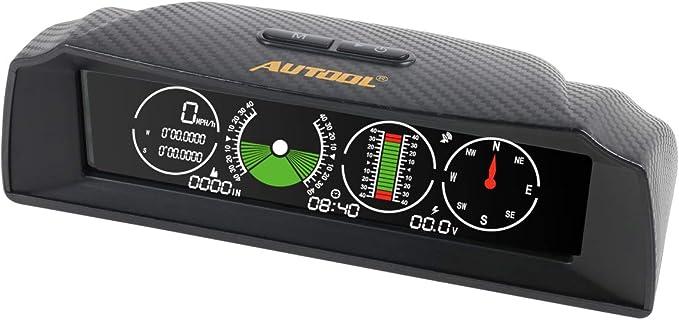 Autool X90 GPS Speed Slope Meter para 12V OBDII Diesel & Gasoline ...