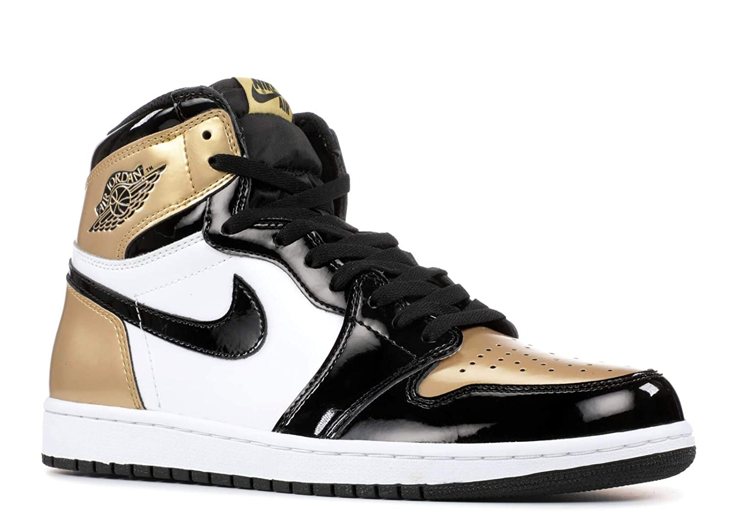 86ae9b12c84bf7 Air Jordan 1 Retro High OG NRG  Gold Top 3  - 861428-001 - Size 11 -   Amazon.co.uk  Shoes   Bags