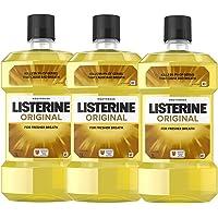 Listerine Listerine Original 1L Triple Pack, Original, 3.1 kilograms (Pack of 3)
