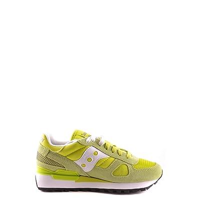 finest selection e8db2 0fa9f Saucony Originals Women s Shadow Original Sneaker,Lime Green White,6 ...