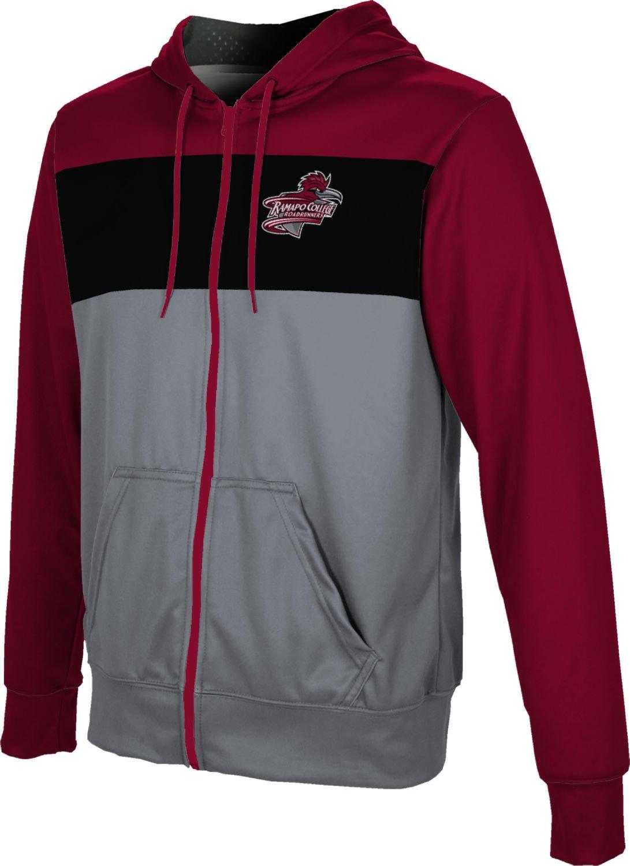 ProSphere Ramapo College of New Jersey Boys' Zipper Hoodie, School Spirit Sweatshirt (Prime) FD352 Red and Gray