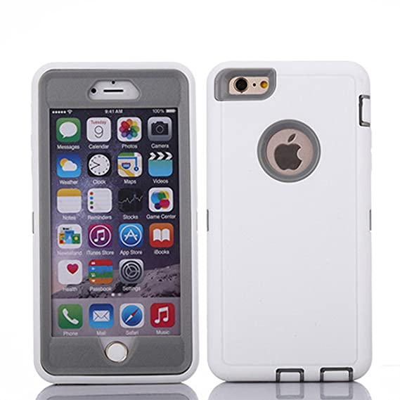 classic fit 8d6ca eebe0 Crosstreesports iPhone 6 Case iPhone 6s Case Heavy Duty Shockproof Series  Case for iPhone 6/6S (4.7