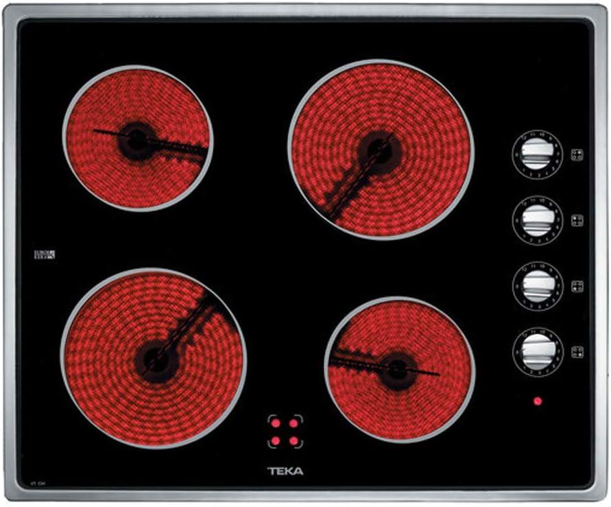 Teka VT CM - Placa Vitrocerámica Vtcm Con Mandos Laterales: 214.75: Amazon.es: Grandes electrodomésticos