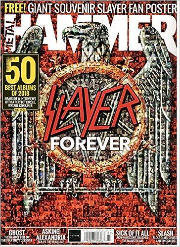 Metal Hammer Magazine Issue 317 (January, 2019) Slayer Forever