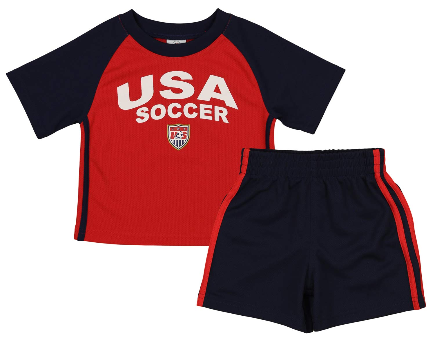 Outerstuff MLS 幼児 USA チームパフォーマンスシャツ&ショーツセット 2T  B07JZK5WPW