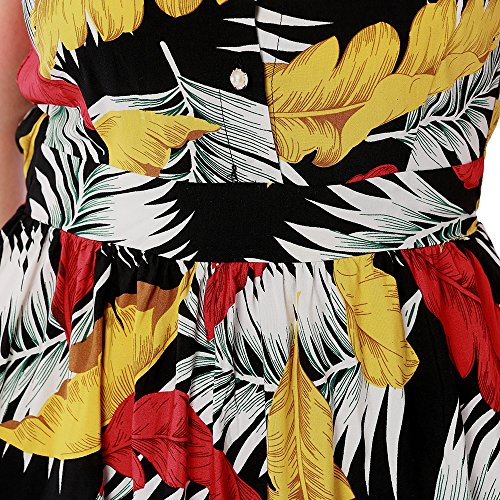 Ms 2018 Fashion Stampa Summer Halter 4 Sexy New Dress Ffllas l 54aqnwURq