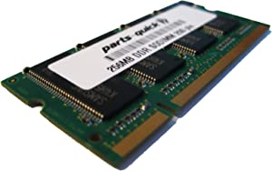 256MB PC2100 200 pin DDR 266 MHZ Laptop Memory for Dell Inspiron 1000 2650 SODIMM RAM