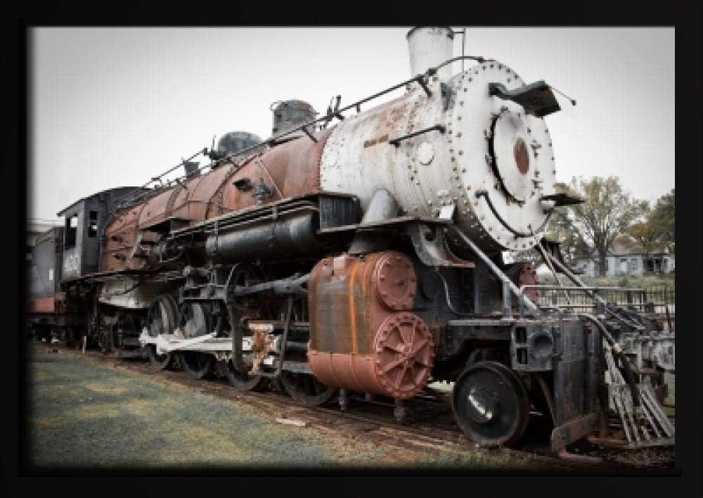 Ndegdgswg Diy Peinture A L Huile Train A Vapeur Nostalgique Vieux