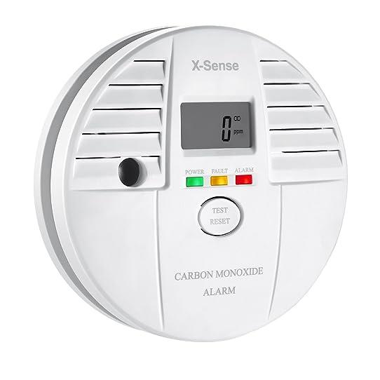 X-Sense Co05S Détecteur De Monoxyde De Carbone Alarme Co Autonomie