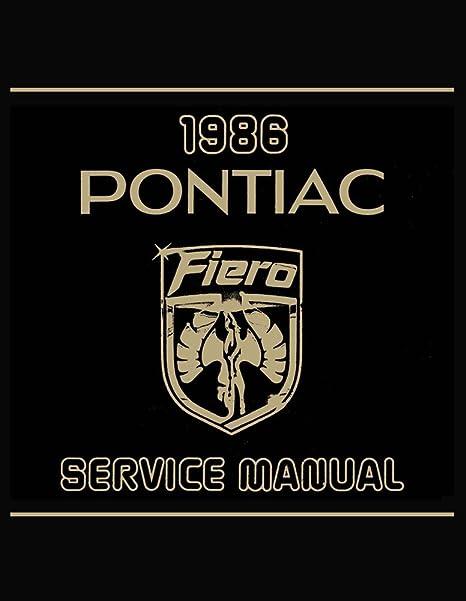 Pleasing Amazon Com Bishko Automotive Literature 1986 Pontiac Fiero Shop Wiring Database Brom4X4Andersnl