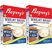 Bagrry's Wheat Bran Box (500g, Pack of 2)