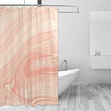 Shower Curtain Bathroom Curtains Liner Waterproof Resistant Bathroom Marble New