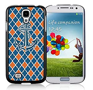 Nice Samsung Galaxy S4 Case Anchor Luxury Design Black Cellphone Cover Accessories