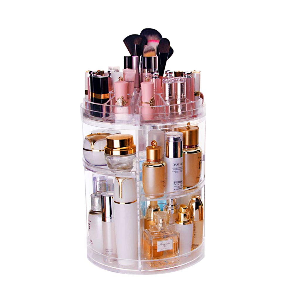 The Tranquil Abode Rotating Make-up Organizer