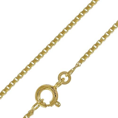 trendor Halskette 333 Gold Venezia für Damen und Herren