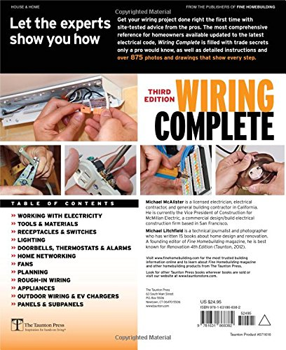 Awe Inspiring Wiring Complete 3Rd Edition Includes The Latest In Wi Fi Smart Wiring 101 Ivorowellnesstrialsorg