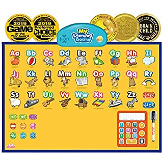 BEST LEARNING i-Poster My Learning Board - Electronic Interactive Educational Talking Poster Toy for Kids of Ages 3 to 6 Years