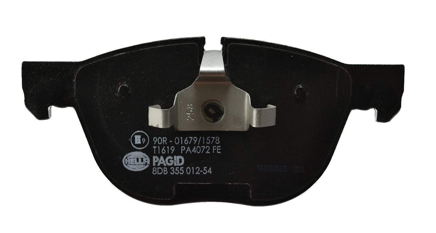 Vorderachse Scheibenbremse HELLA PAGID 8DB 355 012-541 Bremsbelagsatz
