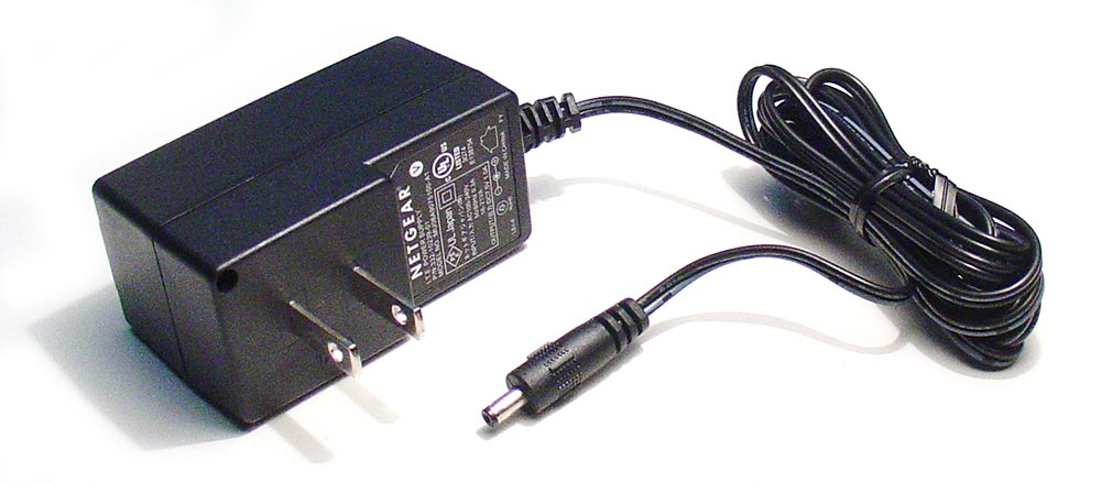 AC - DC ADAPTER 7.5VDC @ 1 AMP 1.3MM DC POWER PLUG + CENTER