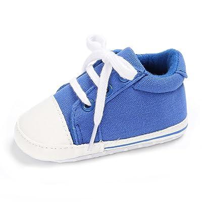 Mixte Chaussures premiers pas Bébé Garçon Filles Puériculture 0-18 Mois Semelle Molle