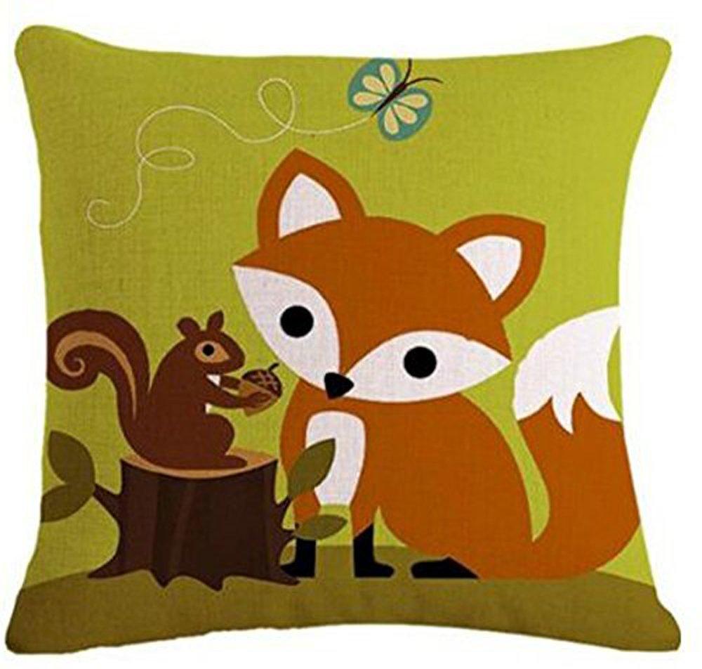 Amazon.com: Bicicleta de dibujos animados de animales zorro ...