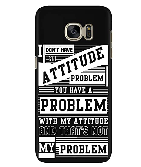 Amazon com: Design for Samsung Galaxy S7 Case, I Don't Have