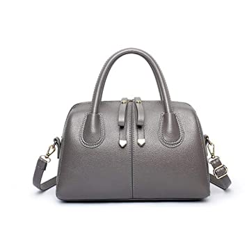Image Unavailable. Image not available for. Color  Qzny Women s Handbag,  Ladies Totes European American Top-Handle Bags Fashion Pu Leather Handbags 5b7cfa71db