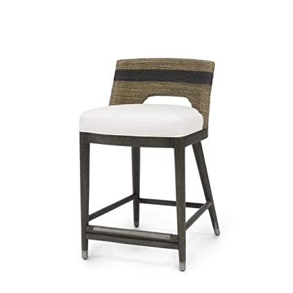 Excellent Amazon Com Kathy Kuo Home Palecek Fritz Coastal Striped Pabps2019 Chair Design Images Pabps2019Com