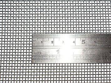 10 de alambre tejido de malla 60 cm x60 cm x2 mm grueso ...