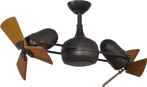 Matthews DG-TB-WD Modern Ceiling Fan