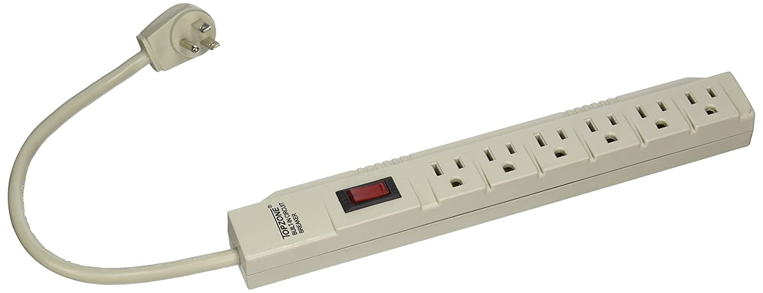Wall Mount Circuit Breaker : Outlet power electrical wall plug socket surge protector