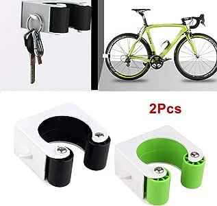2pcs Bike Parking Buckle Bicycle Wall Mount Hook Bike Road Bike Parking Tools