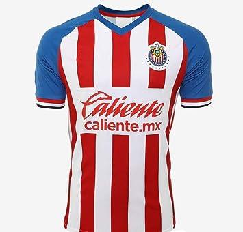 online store 107f8 4d6f7 New Chivas Roja Red/White Home Jersey Men Regular Fit 2019-2020