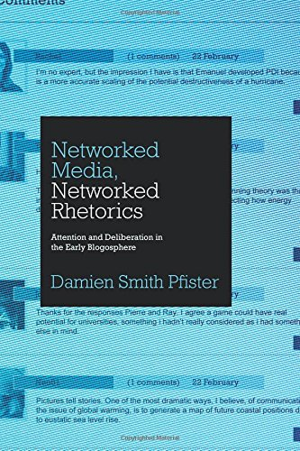 Networked Media  Networked Rhetorics  Attention And Deliberation In The Early Blogosphere  Rhetoric And Democratic Deliberation