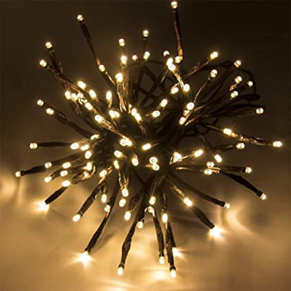 Christmas String Lights.Flexible Led Branches String Lights Outdoor Fairy Lights Waterproof Artificial Tree Branch Pendant String Lights For Bedroom Patio Garden Parties