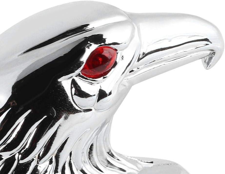 Aramox Ornement daile d/écoration de t/ête daigle universelle de moto garde-boue avant de moto ajustement