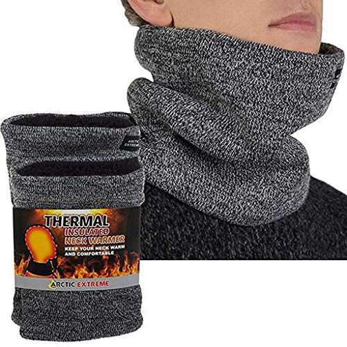 Christmas Best Gift!!!!Kacowpper Man Autunm Winter Warm Scarf Wome Bufanda Thickness Knitted Collar ()